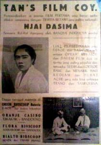 Njai Dasima I (1929)